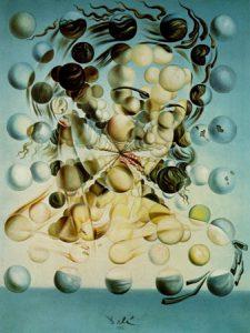femme bulles dali